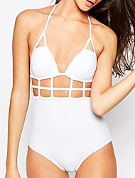 cheap -Women's Cut Out  Sexy Halter Bandage One Piece Swimsuit