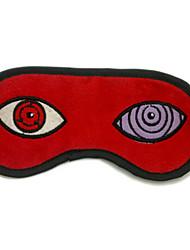abordables -Máscara Naruto Sasuke Uchiha Animé Accesorios Cosplay Rojo Pana