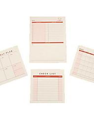 baratos -notas memoráveis de tamanho pequeno lágrimas para notas da etiqueta escolar / escritório