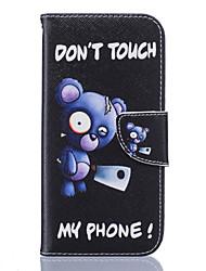 Недорогие -Кейс для Назначение SSamsung Galaxy Samsung Galaxy S7 Edge Кошелек / Бумажник для карт / со стендом Чехол Цветы Мягкий Кожа PU для S7 edge / S7 / S6 edge