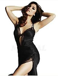 お買い得  -セクシー スーツ ナイトウエア 女性用 - バックレス, ソリッド