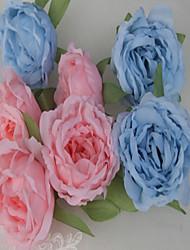 baratos -Casamento / Noivado / Dia Dos Namorados / Festa de Casamento Seda Mistura de Material Decorações do casamento Tema Flores / Tema Clássico
