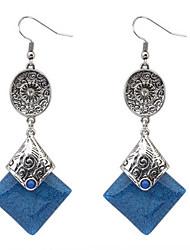 preiswerte -Mode Temperament Quadrat Ohrring elegant klassischen weiblichen Stil
