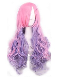 cheap -Synthetic Wig Water Wave Synthetic Hair Ombre Hair Wig Women's