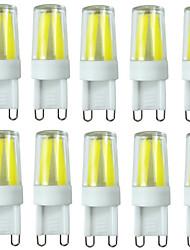 preiswerte -2W G9 LED Doppel-Pin Leuchten T 4LED Leds COB Wasserfest Abblendbar Dekorativ Warmes Weiß Kühles Weiß Natürliches Weiß 200-250lm 2700-6500