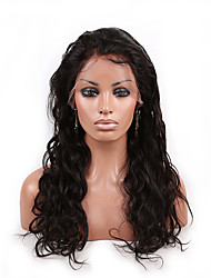 10-26 Inch 100% Human Virgin Hair Lace Wig Lace Front Natural Color Body  Wave Lace  Wig-glueless with Baby Hair