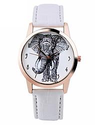 cheap -Elephant Watch Women Watches Leather Unique  Boyfriend Gift Idea Spring Unique Custom Ladies Trendy Strap Watch