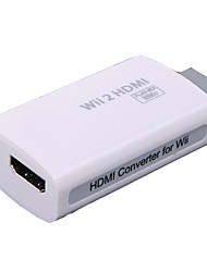 abordables -Wi-W2H001 Audio y Video Adaptador y Cable para Nintendo Wii Mini Novedades Con cable 1-3h