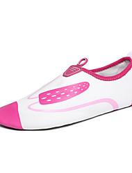 cheap -Women's Flats Synthetic Spring Fall Casual Water Shoes Flat Heel Fuchsia Green Blue