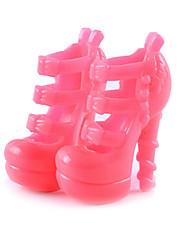 Недорогие -11-дюймовые куклы обувь и туфли на высоких каблуках вспомогательное оборудование ювелирных изделий способа Фантазия детские игровые