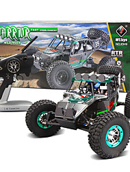 cheap -Buggy WLToys K949 1:10 Brush Electric RC Car 30KM/H 2.4G Blue Ready-To-GoRemote Control Car / Remote Controller/Transmitter / Battery