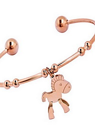 cheap -Women's Bangles Cuff Bracelet Bohemian Fashion Alloy Animal Jewelry Christmas Gifts Daily Casual Costume Jewelry
