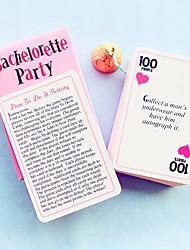 Невеста Жених Свидетельница Дружка Девочка Мальчик Пара Родители ДетиДомашний интерьер Сделай-сам Оригинальный подарок Игральные карты &