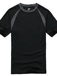 Homme Femme Tee-shirt de Randonnée Séchage rapide Hauts/Top pour Sport de détente