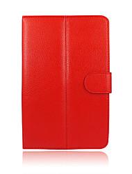 preiswerte -Universal-PU-Leder Standplatz-Fallabdeckung für 8 Zoll-Android-Tablet Fälle für Samsung Apple iPad