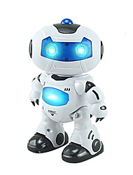 RC Robot Kids' Electronics Robot Infrared ABS Singing Dancing Walking Remote Controlled Singing Dance Music & Light