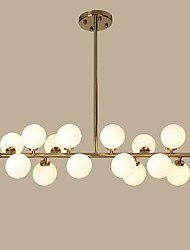 3 Chandelier ,  Modern/Contemporary Gold Feature for Designers Metal Living Room / Dining Room / Study Room/Office