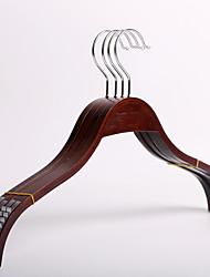 1PC 40cm*1.2 Luxury Brown Splint Wooden Hangers