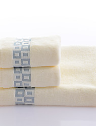 cheap -Fresh Style Bath Towel Set, Yarn Dyed Superior Quality 100% Cotton Knitted Towel