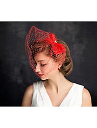 preiswerte -Perlennetz Fascinators Kopfbedeckung Hochzeitsgesellschaft elegant femininen Stil