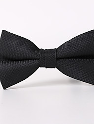 cheap -Black Plaid Bow Tie Butterfly