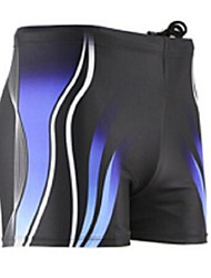 cheap -Men's Swimsuit Bottoms Waterproof Ultraviolet Resistant Breathable Lightweight Materials Lycra Tankini Bottoms Swimming Diving Surfing