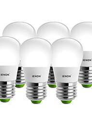 baratos -IENON® 3000-6000 lm E26/E27 Lâmpada Redonda LED S14 6 leds SMD Decorativa Branco Quente Branco Frio AC 100-240V