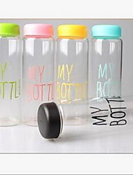 cheap -My Bottle Plastic Sport Fruit Juice Water Cup Portable 500ML Travel Bottle