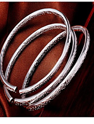 cheap -Silver Full-Star Adjustable Bangle Bracelet
