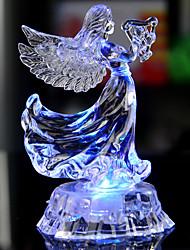 Недорогие -ангел во главе лампа горит коснуться настольной лампы для украшения свадьбы ночные огни в качестве подарков случайный цвет