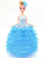 Недорогие -универсальные (за исключением ребенка) 10 одежды свадебное платье полный мешок большой юбка задний дизайн свадебное платье 30 см кукла