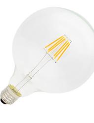 Недорогие -1шт 6W 560lm E26 / E27 LED лампы накаливания G125 6 Светодиодные бусины COB Декоративная Тёплый белый 220-240V / 1 шт. / RoHs