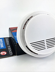 Domestic wireless smoke sensor fire detector