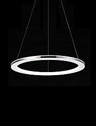 cheap -Modern / Contemporary Pendant Light Ambient Light - LED, 110-120V 220-240V, Warm White White, LED Light Source Included
