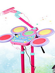 Toy Musica Plastica Nero / Rosa Toy Puzzle Toy Musica
