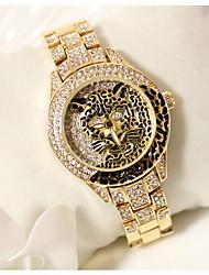 Недорогие -Жен. Модные часы Японский кварц Нержавеющая сталь Серебристый металл / Золотистый Повседневные часы Аналоговый Дамы Блестящие Матовый черный - Серебряный Золотой Розовое золото