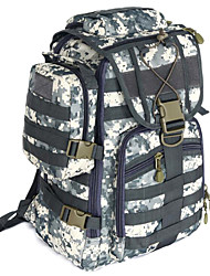 40 L Backpack Camping & Hiking Multifunctional Canvas