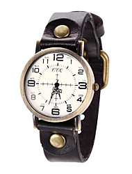 cheap -Women's Fashion Watch / Bracelet Watch / Wrist Watch Casual Watch / Cool Leather Band Vintage Black / Brown