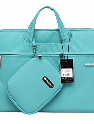 cheap -Gearmax® 14inch/15inch Waterproof Handheld Laptop Case/Bag Solid Color Blue/Green/Pink/Gray