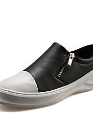 cheap -Men's Fashion Casual Shoes EU39-45 Microfiber Board Flats Sneakers Slip-ons Shoes