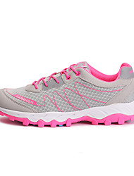 abordables -LEIBINDI Zapatillas de deporte Zapatillas de Senderismo Zapatillas de Running Mujer A prueba de resbalones Anti-Shake Resistencia al