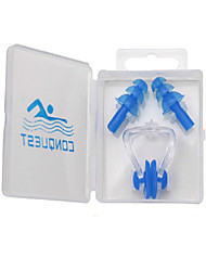 cheap -Swimming Earplugs Nose Clips