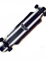 Longboards Skateboard 6008ABEC-9-Weiss/schwarz Weiss + rot