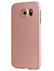 Für Samsung Galaxy S7 Edge Other Hülle Handyhülle für das ganze Handy Hülle Einheitliche Farbe Hart PC Samsung S7 edge / S7 / S6 edge / S6
