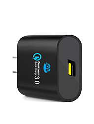 Qualcomm Certified JDB Quick Charge 3.0 24W USB Wall Charger Smart Power Adapter for iPhone Samsung Huawei Xiaomi Other Device