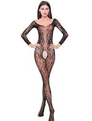 baratos -Mulheres Conjunto Super Sensual Roupa de Noite - Fashion Jacquard, Jacquard