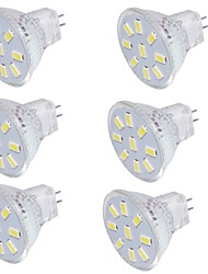 abordables -GU4(MR11) Spot LED MR11 9 diodes électroluminescentes SMD 5733 Décorative Blanc Chaud Blanc Froid 150lm 3000/6000K 9-30V