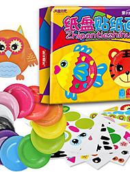 economico -Adesivi Modellino di carta Giochi da disegno Giocattoli Rabbit Anatra Gatto Cani Maiale Velivolo Prodotti per pesci Mouse Elicottero Carta
