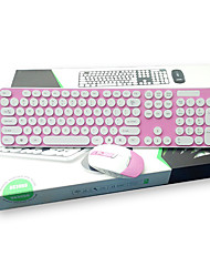 Bluetooth Wireless Chocolate Colorful Keyboard +Mouse  Tablet PC  Thin Keyboard for Laptop