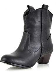 cheap -Women's Heels Spring / Fall / WinterHeels / Cowboy / Western Boots / Riding Boots  Motorcycle Boots / Bootie / Combat